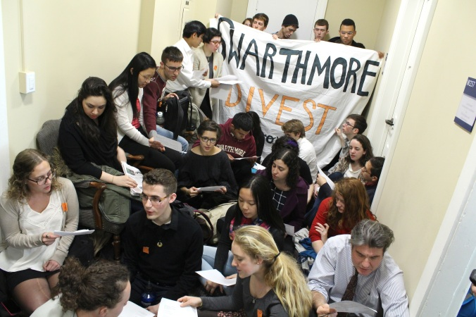 Swarthmore_Divestment_SitIn